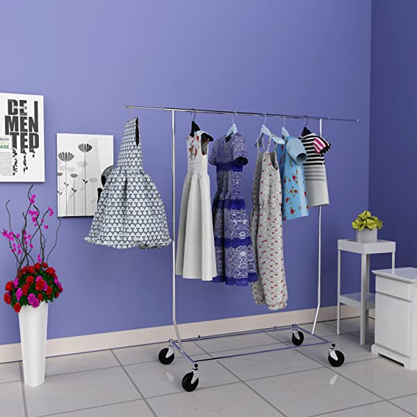 commercial grade garment rack our clothing garment rack is very sturdy and not flimsy like others heavy duty and great quality - Clothes Hanger Rack