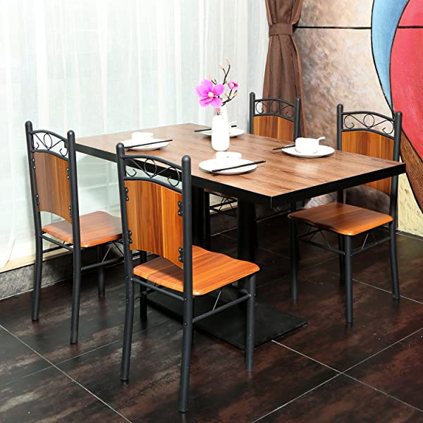 Dining Chairs Brown