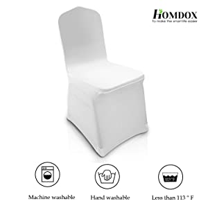 Amazon.com: Homdox universal 100 unidades Color Blanco ...
