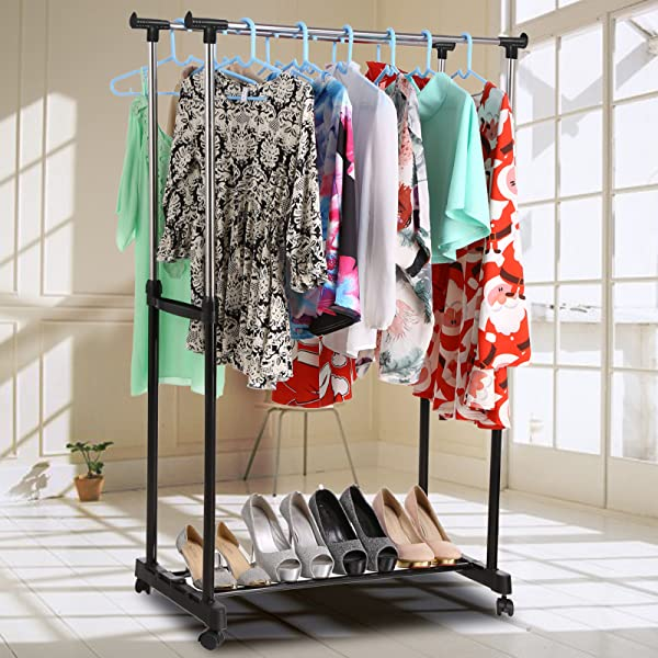 Amazon Com Homdox Foldable Clothes Drying Rack Double