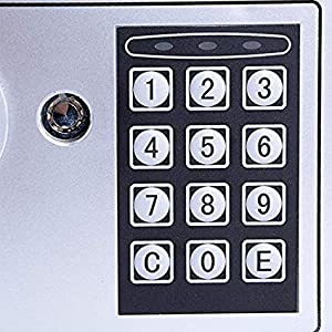 digital safe with keypad
