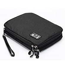 Electronic Travel Organizer Tech Equipment Pouch Chargering Cable Bag Backpack 1