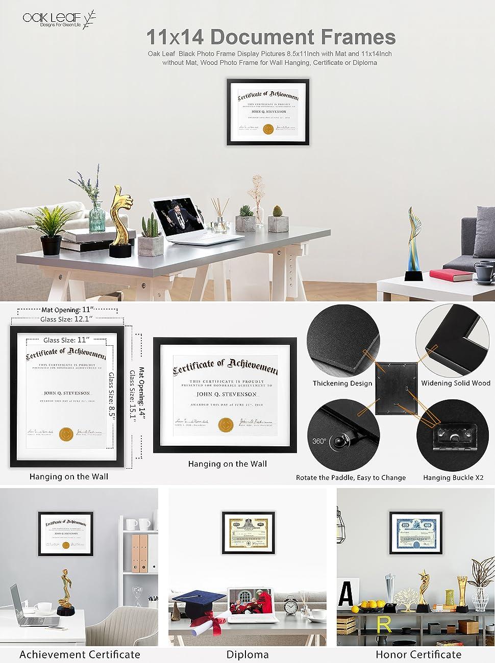 Make Memories Last A Lifetime With UnityStar Wood Document Frames