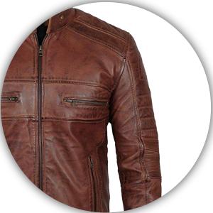 Biker Leather Jacket For Men