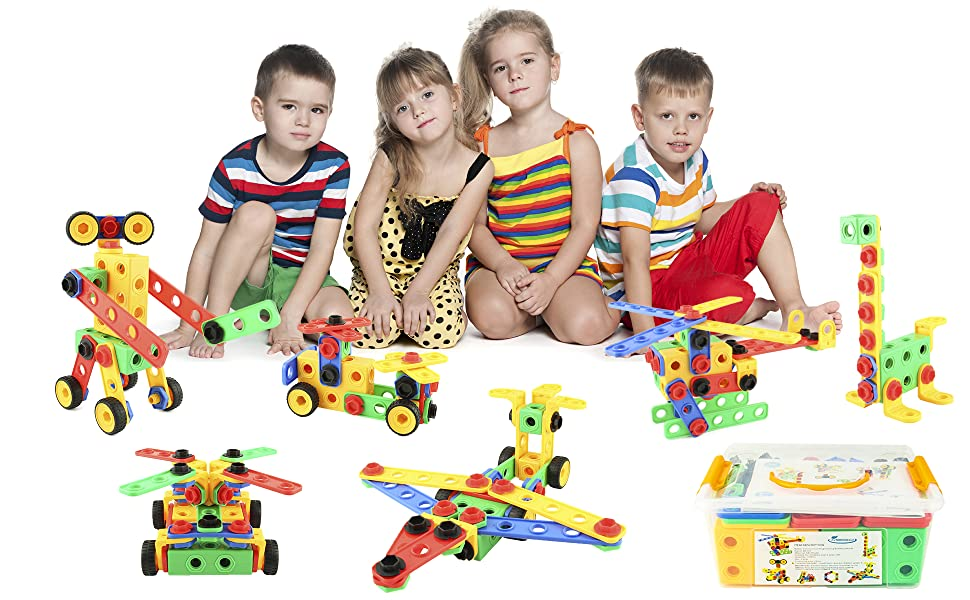 with 3 projects enhances children,s skills Creative toy for kids//children