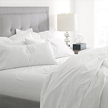 Amazon Com Boll Branch Luxury Long Staple Organic Cotton Hemmed Pillow Case Set Pack Of 2 Standard Natural Home Kitchen