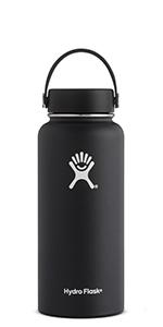 Hydro Flask FBA_W32TS110, 32 oz (946 ml) Wide Mouth, White