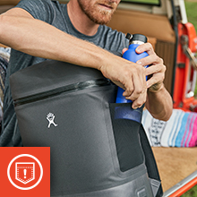 hydro flask cooler essentials pocket