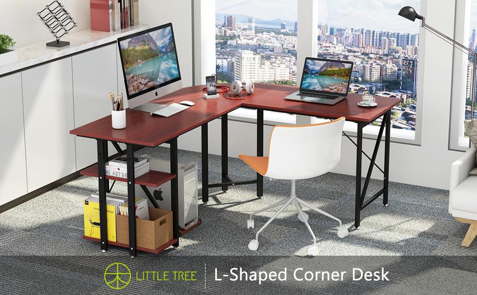 LITTLE TREE Lcomputer desk