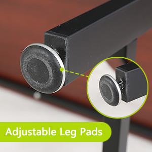 Adjustable leg pads