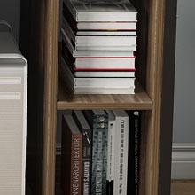 2 bookcase storage