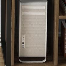 A full size cpu shelf