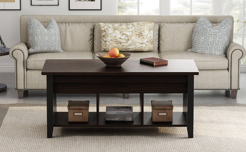 LITTLE TREE Lift Top Coffee Table, Brings Style And Function To Your Living  Room