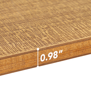 Thickened solid wood board