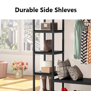 Durable side shleves