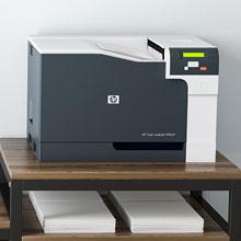 Large printer shelves