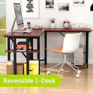 Reversible L-Desk