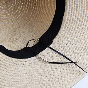 d053f962fe4 The beach hat is made of material 100% straw and a removable chin strap  help to hold your hat in windy days  ...