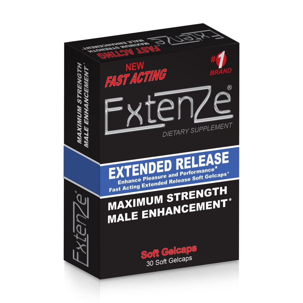 Amazon.com: ExtenZe Extended Release Soft Gel 30ct.: Health ...