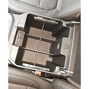 SLX154 Chevy Silverado GMC Sierra center console organizer