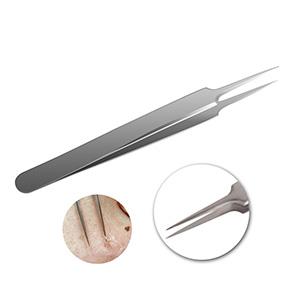 AMTOK Blackhead Remover Kit Curved Blackhead Tweezers Kit Pimple Comedone Extractor Tool 6pnNNyDzQ9eN