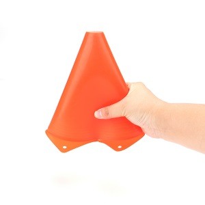Thicker, outlasts other cheap quality traffic sport cones.