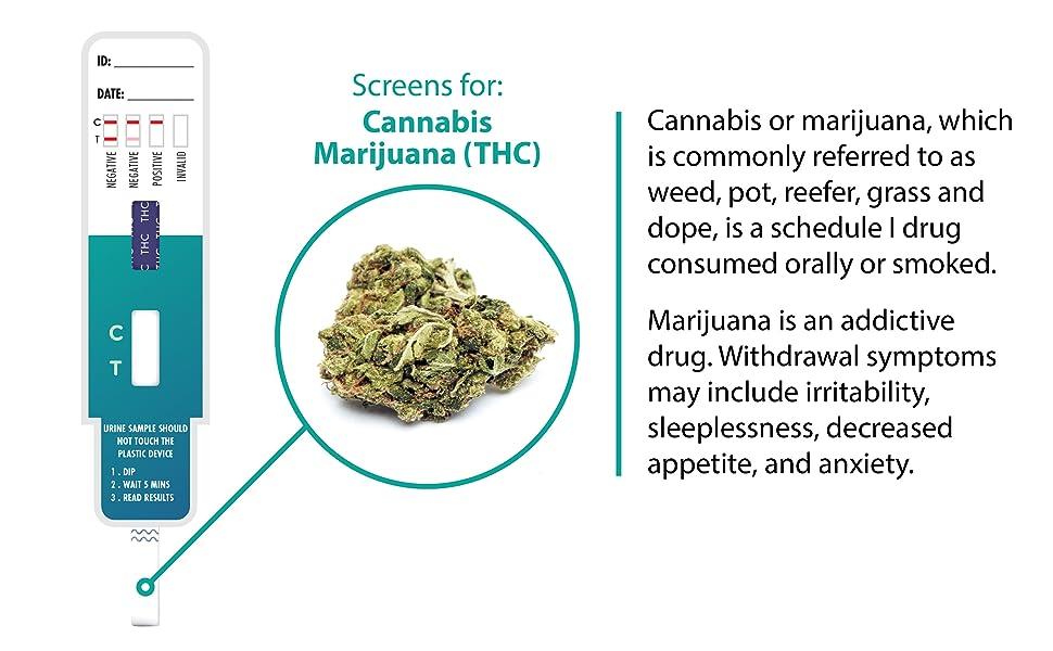 Marajuana pee test cures