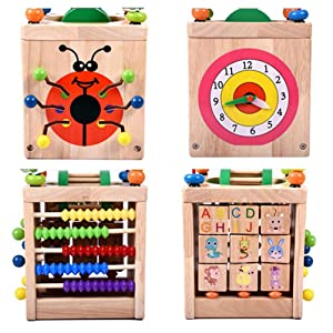 Multifunction Bead Four Sides Display