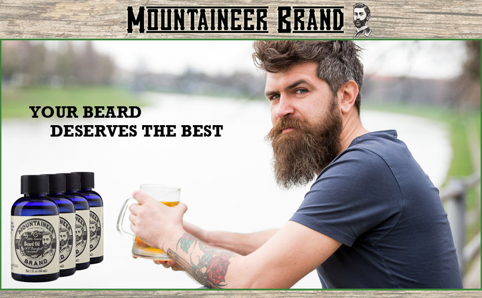 For all beard types; goatee oil, mustache oil, unscented beard oil and scented beard oil.