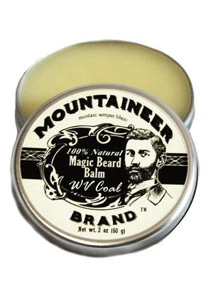 Balsamo para barba - mountaineer beard brand balm. all natural beard butter for thick beard pomade