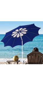 beach umbrella  travel portable compact adjustable beach umbrella with sand anchor vent titl  anchor
