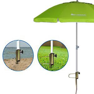4a9c7563b861 AMMSUN Beach Umbrella Sand Anchor, 16.7