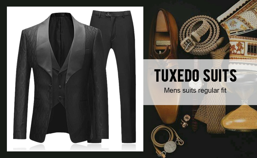 mens black tuxedo suits