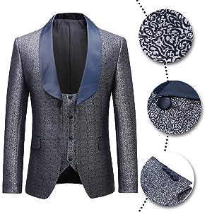 gray tuxedo suit