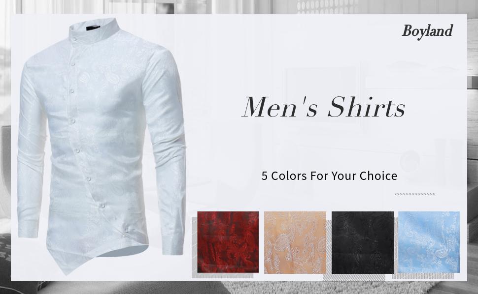 mens floral luxury shirt