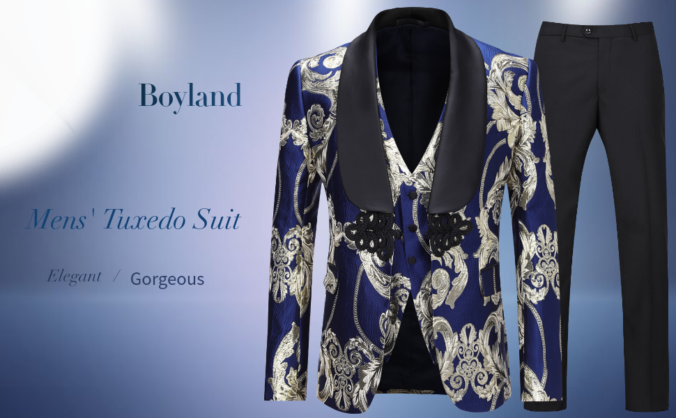 boyland 3 pieces suit