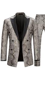2 pieces tuxedo suit
