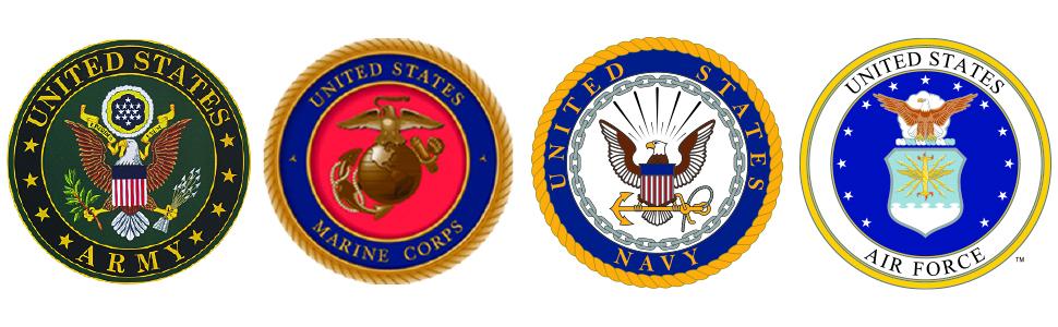 military fleece crests