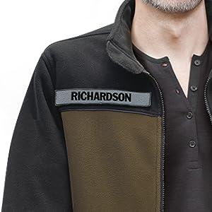 personalized military fleece