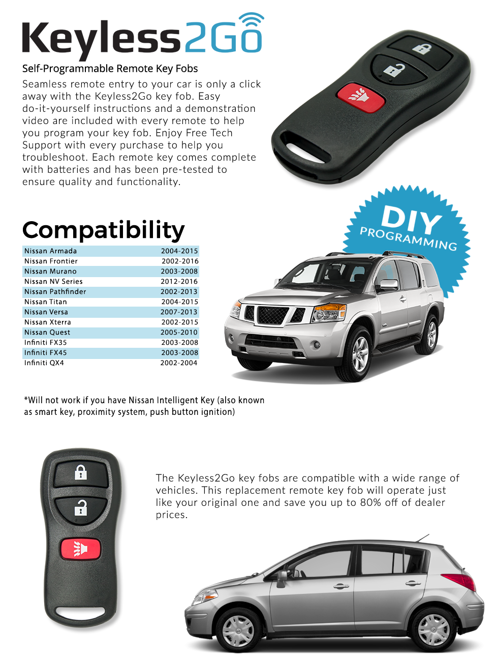 Nissan Rogue Service Manual: Without intelligent key system