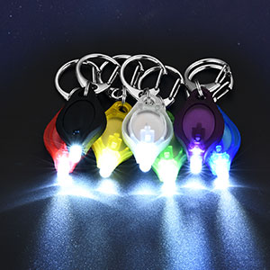 BLUE Details about  /45x Mini Bright Light LED Flashlight Ring Keychain Camping