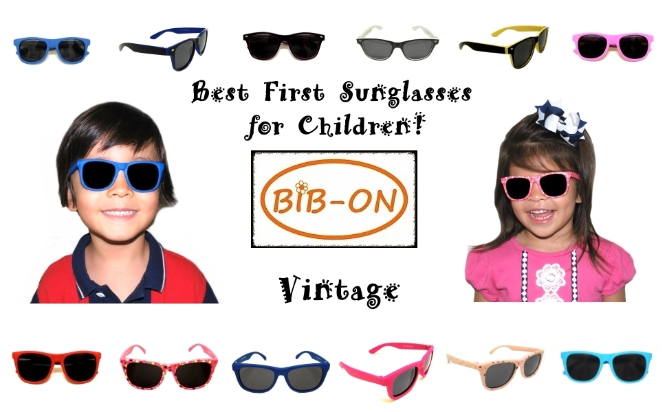 Toddler 100/% UV Proof Sunglasses for Baby an... My First Sunglasses Vintage
