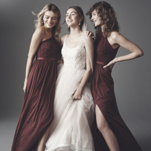 David's Bridal Bridesmaid Dresses, Wine Bridesmaid Dresses, Lace Bridesmaid Dresses