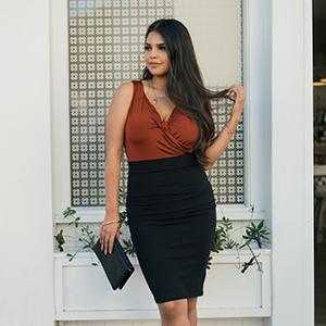 office work skirt