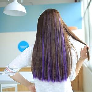 Multi-Colors Hair Pieces