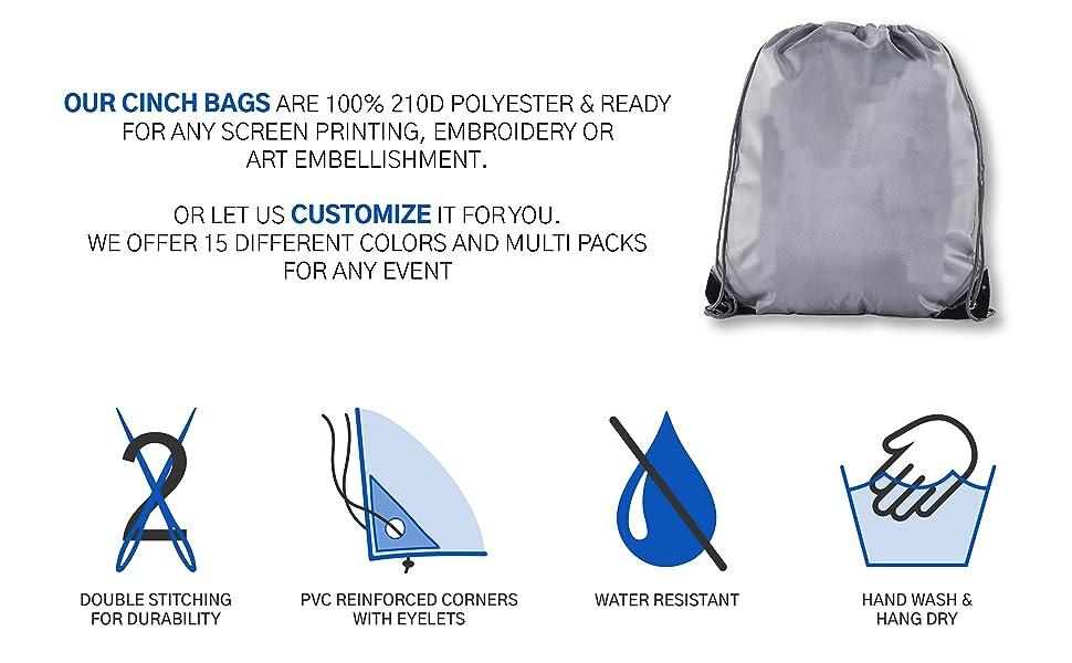 uses of cinch bag