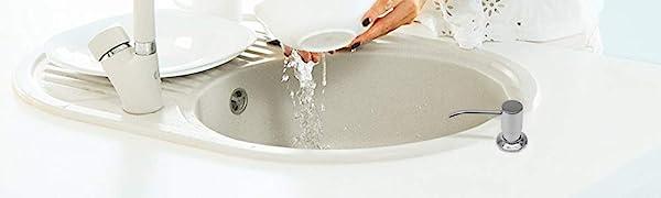 Chrome Sink Soap Dispenser