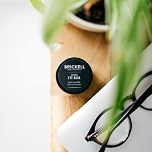 Brickell Men's Restoring Eye Cream for Men, Natural and Organic Anti Aging Eye Balm To Reduce Puffiness, Wrinkles, Dark Circles, Crows Feet and Under Eye Bags, .5 Ounce, Unscented 14