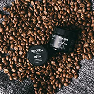 Brickell Men's Restoring Eye Cream for Men, Natural and Organic Anti Aging Eye Balm To Reduce Puffiness, Wrinkles, Dark Circles, Crows Feet and Under Eye Bags, .5 Ounce, Unscented 20