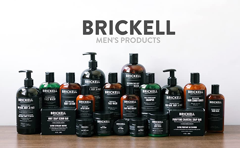 Amazon.com : Brickell Men's Products Daily Strengthening